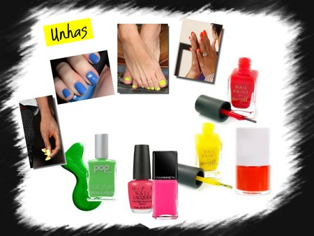 nails fluo